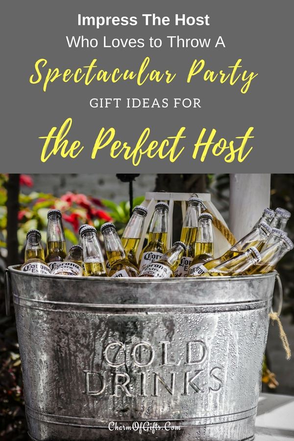 Planning to buy a thoughtful gift for the host/ hostess who doesn't need a reason to throw a big party? A bottle of wine will do, but it is also forgetful, boring and typical. These gift ideas will delight the host who loves to throw parties. They are so good, you will see them use your gift at every party.