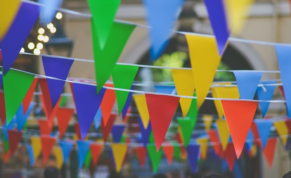 'No Gifts' Kid's Birthday Party Decoration Bunting