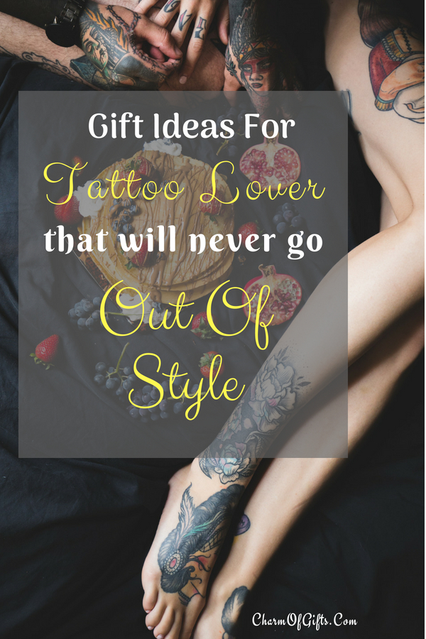 Tattoo lover gifts that you need to see before you buy them a gift! Gifts ideas include something for every budget and type of tattoo lover.
