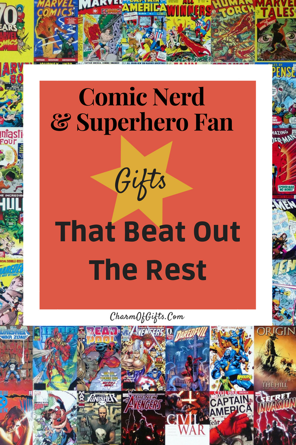 This Comic Book Lover And Superhero Fan Gift Guide Is Chock Full Of Fun Things To