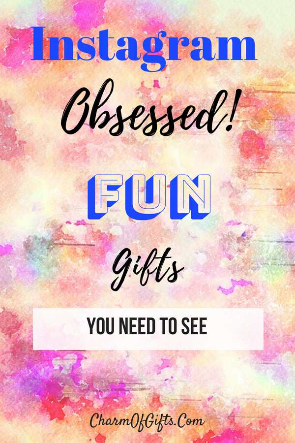 Instagram Inspired Gift Guide You Really Need To See. Check Out Fun Gift Ideas For The Instagram Obsessed User or An Instagram Blogger!