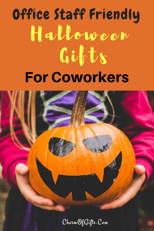 The best office friendly Halloween gifts for the coworkers they would love to place on their desks or wear!