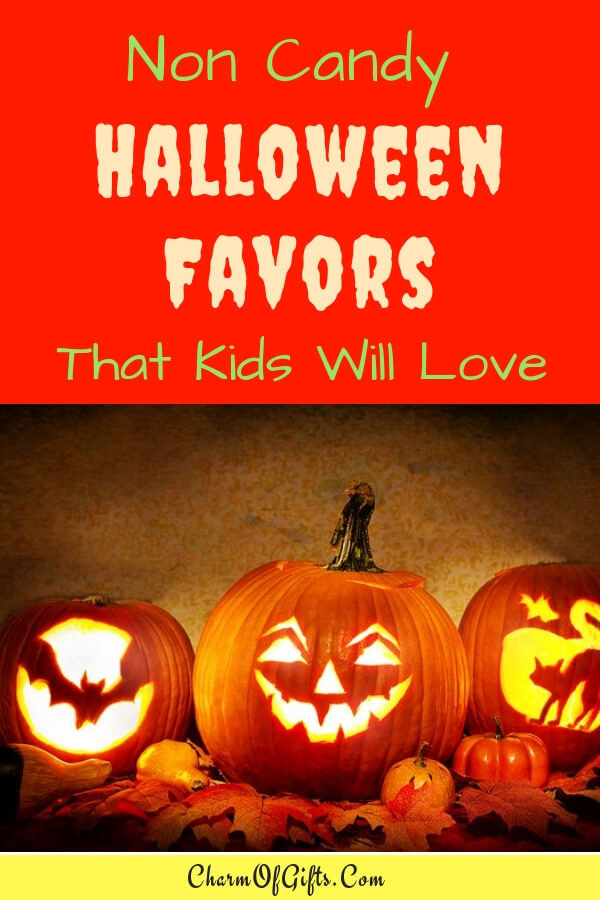 Non Candy Halloween Gifts That Kids And Their Parents Will Love. Ditch The Sugar And Food Allergens, Give Halloween Treats That Last Longer Than Candy.