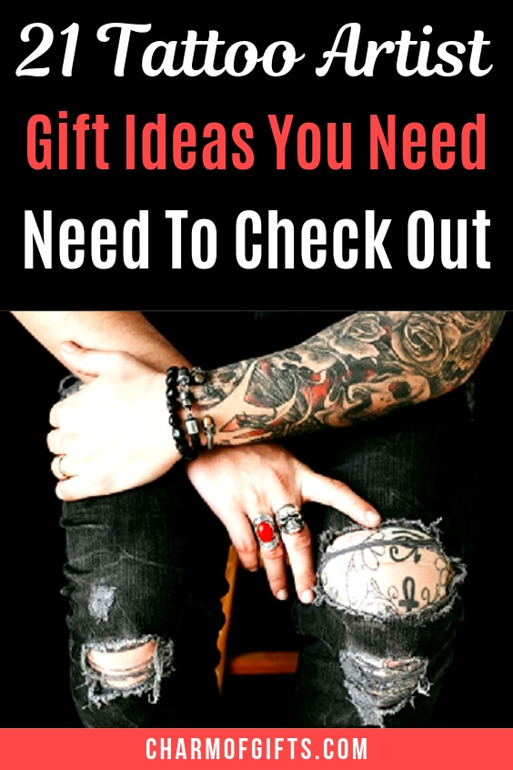 21 Best Tattoo Artist Gifts They Would Love To Get. Budget Friendly and Full Of Unique Gift Ideas That Are Perfect For Housewarming, Birthdays And Even For Couples. #tattooartistgifts