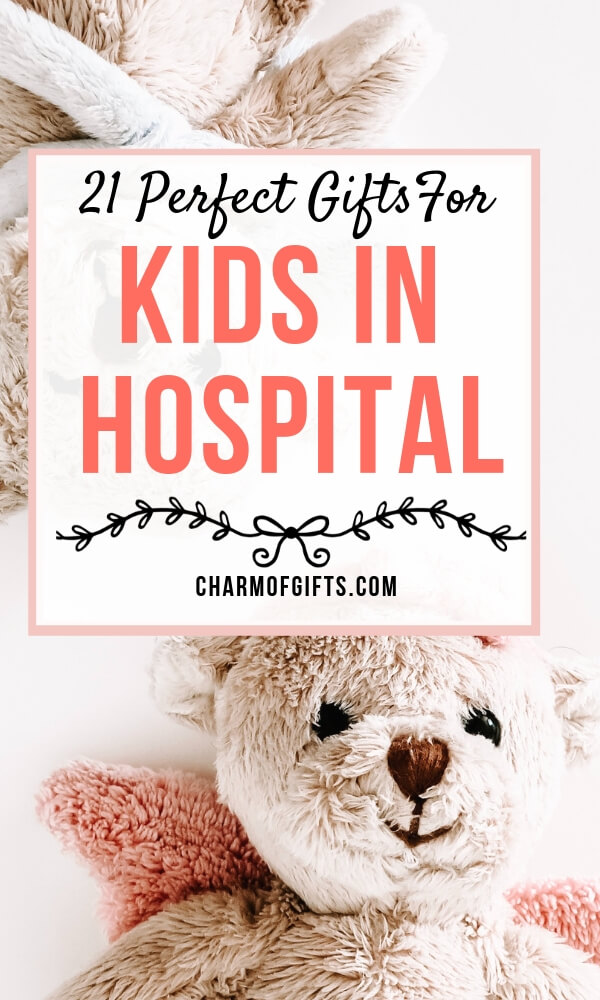 Here are 21 best gift ideas for a child in hospital that will bring him or her comfort and relaxation. Screen free hospital gifts for kids. Kids hospital activities inspiration. Get well soon gifts for kids even Parents would love.
