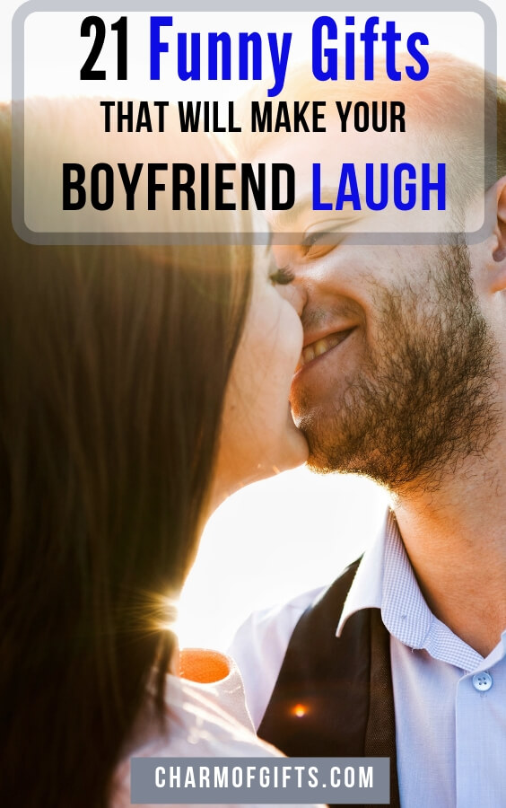 Funny boyfriend gifts that will have you both laughing hard. Hilarious gifts for him that he will love to use again and again. Perfect for his Birthday, Anniversary, April fool's day or even Valentine's day.