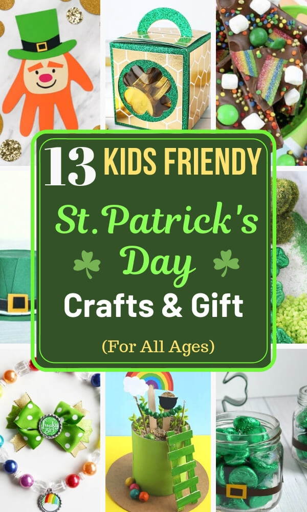 Easy St Patrick S Day Crafts For Kids That Make Great Gifts As Well
