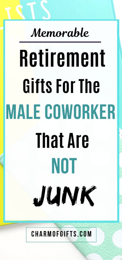 Retirement Gifts For Male Coworker That