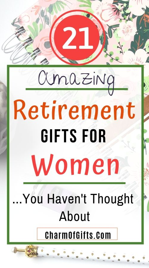 Get ready to be amazed by these amazing retirement gifts for women. This gift guide has some thoughtful, funny, sentimental and some uncommon gifts perfect for surprising her!