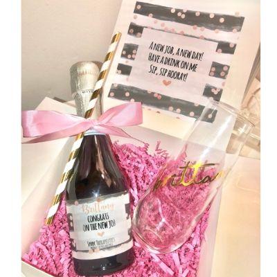 congrats gift box personalized