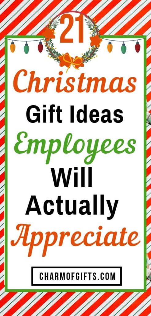 Inexpensive Holiday Gifts For Employees From Boss, Employer or Corporate. Ring In The Holiday Spirit With Christmas Gifts Your Employees And Staff Members Will Appreciate