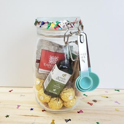 housewarming mason jar gift