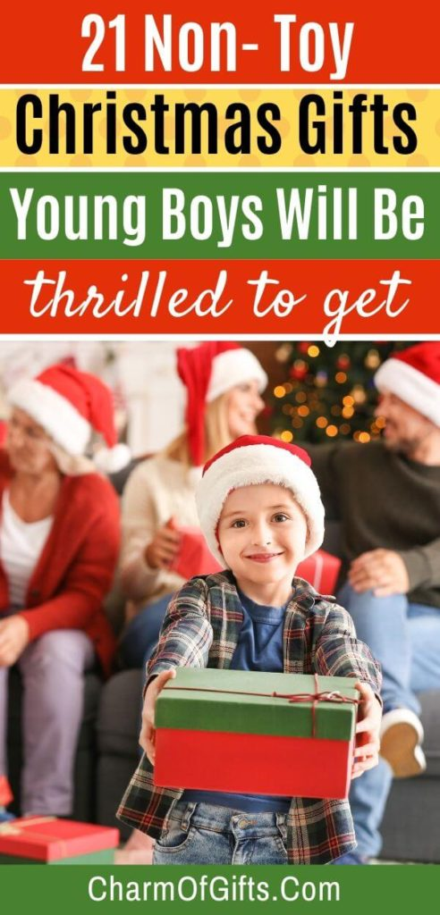 21 brilliant non toy gifts for young boys that are perfect for Christmas. Educational and activity gifts that help with child's development. Must-see gifts that he will be thrilled to get.
