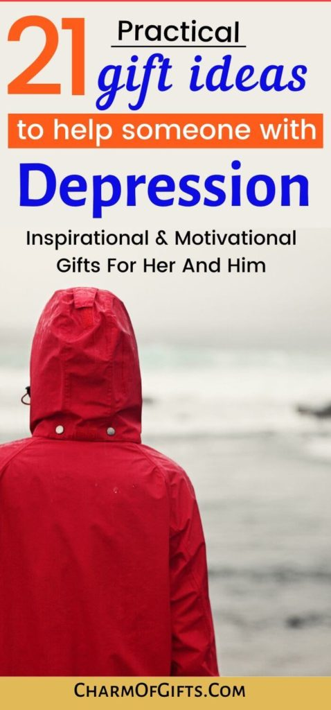 Most thoughtful gift ideas for someone going through depression Great for man or women that are not feeling their best at the moment. Wellness gifts and motivational gift ideas that will bring them comfort and peace.