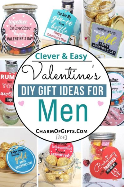 Super easy and creative DIY Valentine's day gift ideas perfect for the man in your life. Show how much you love him with a cute, romantic, and funny gift idea he will be thrilled to receive.