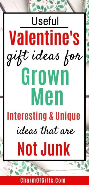 Here Are Some Practical Valentine's Day Gift Ideas Your Husband or Boyfriend Will Be Happy to Get. Gift Ideas Include Something for Every Kind Of Man.