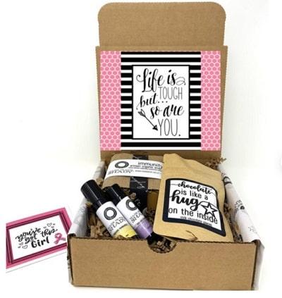 breast cancer gift basket-min