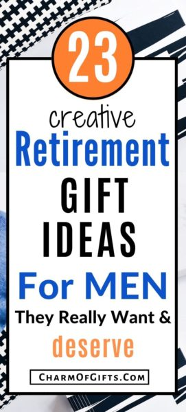 Best retirement gift ideas for men he will be thrilled to get. Great for dad, husband, etc. These memorable gifts are full of nostalgia and pride.