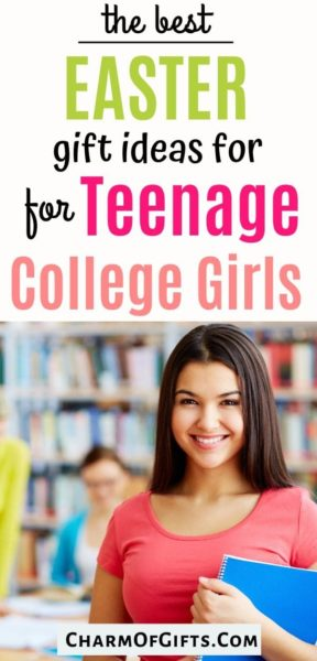 Useful Easter gifts for teen college girls freshman sophomore or junior. Dorm room friendly