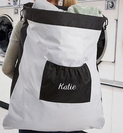 laundry hamper Easter gift for college girls