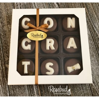 chocolate dipped oreo congratulations gift