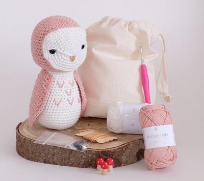crochet stuffed animal kit for moms