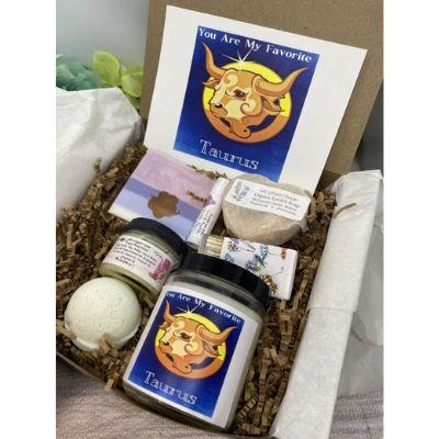 gift basket for Taurus man