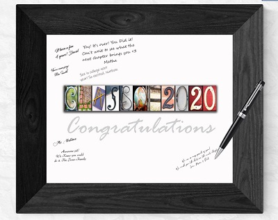 guest book for graduation party