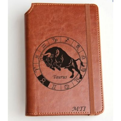 leather jourmal for taurus