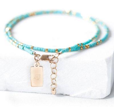 zodiac turquoise bracelet