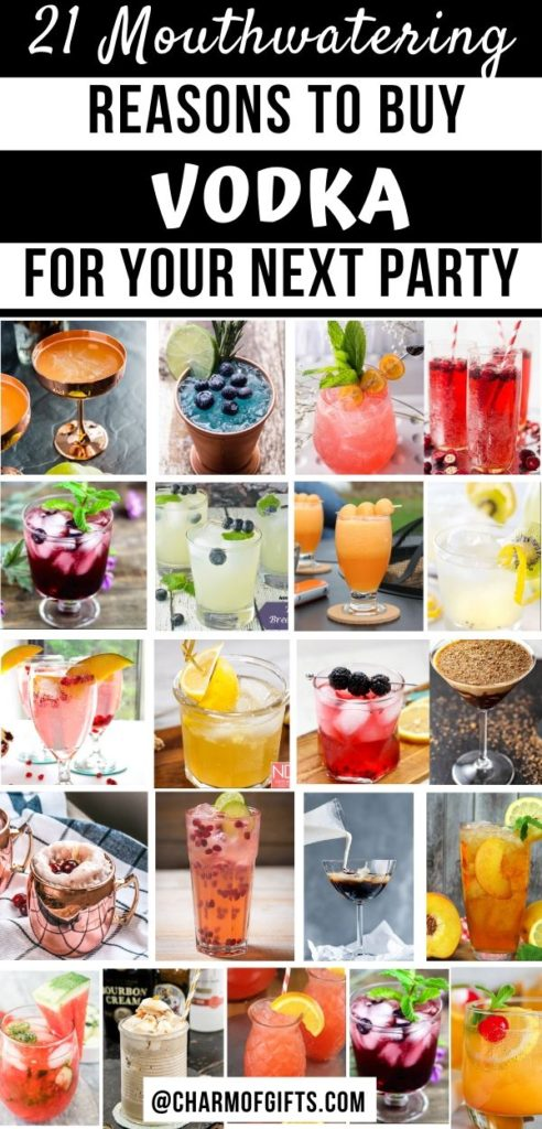 21 vodka cocktails great for all occasions