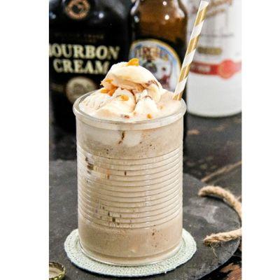 bourbon root beer float