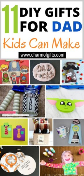 11 DIY gift ideas for Father's Day that kids can make easily