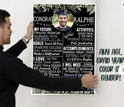 personalized poster