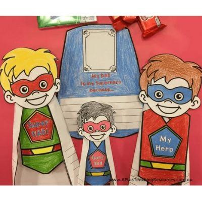 superhero dad printable