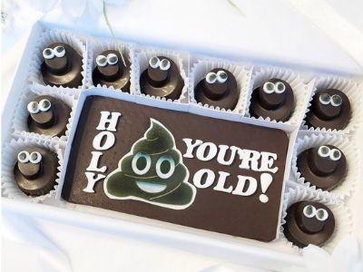 funny birthday chocolate
