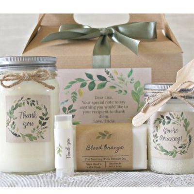 self care spa gift set