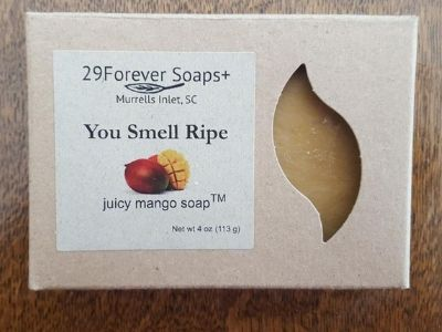 you smell ripe soap