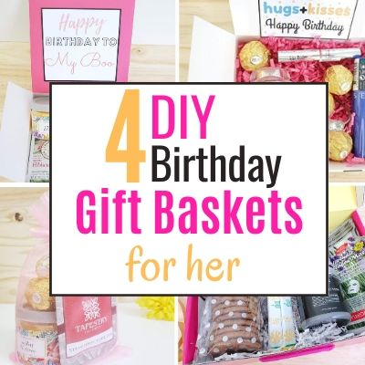 4 gift basket ideas for best friend birthday she will love