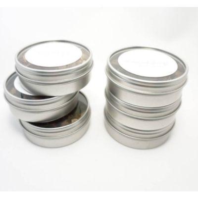 empty metal tins