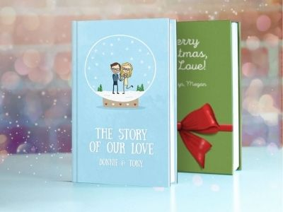 Christmas love book