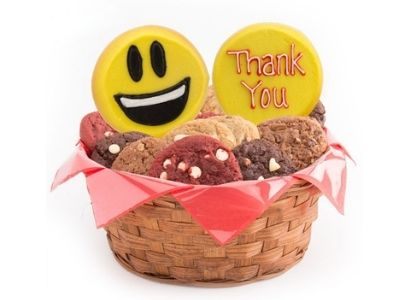 emoji thank you cookies