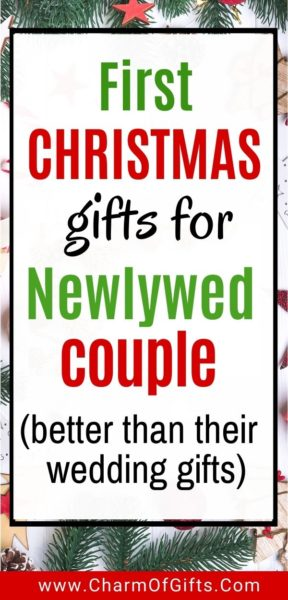 first christmas gift ideas for the new couple