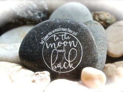 inspirational rock keepsake personalized