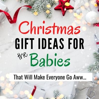 Christmas gift for babies under one year old