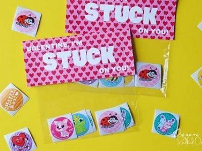 sticker diy gift