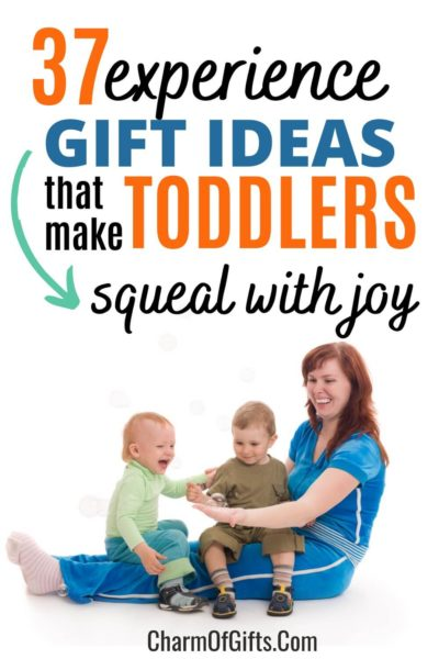 experience gift ideas for toddlers aged 0-3 years. Includes Indoors, outdoors, educational and new skill experiences great for any season, including winters.